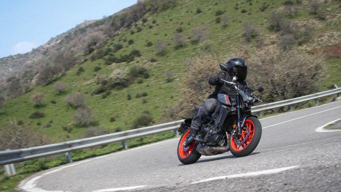Yamaha MT-09 2021: costa 9.499 euro