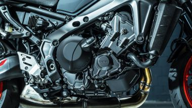 Yamaha MT-09 2021: il motore è ora Euro5