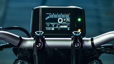 Yamaha MT-09 2021: il nuovo display TFT da 3,5 pollici