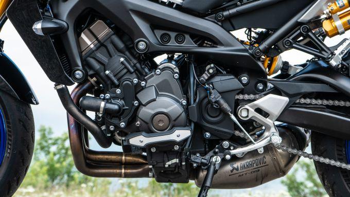 Yamaha MT-09: il motore Euro 4