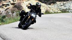 Yamaha MT-09 la versione SP migliora nelle sospensioni e nelle finiture