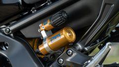 Yamaha MT-09 SP 2021: il controllo remoto per la regolazione del precarico
