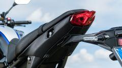 Yamaha MT-09 SP 2021: il faro posteriore a LED