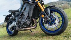 Yamaha MT-09 SP 2021: la forcella Kayaba