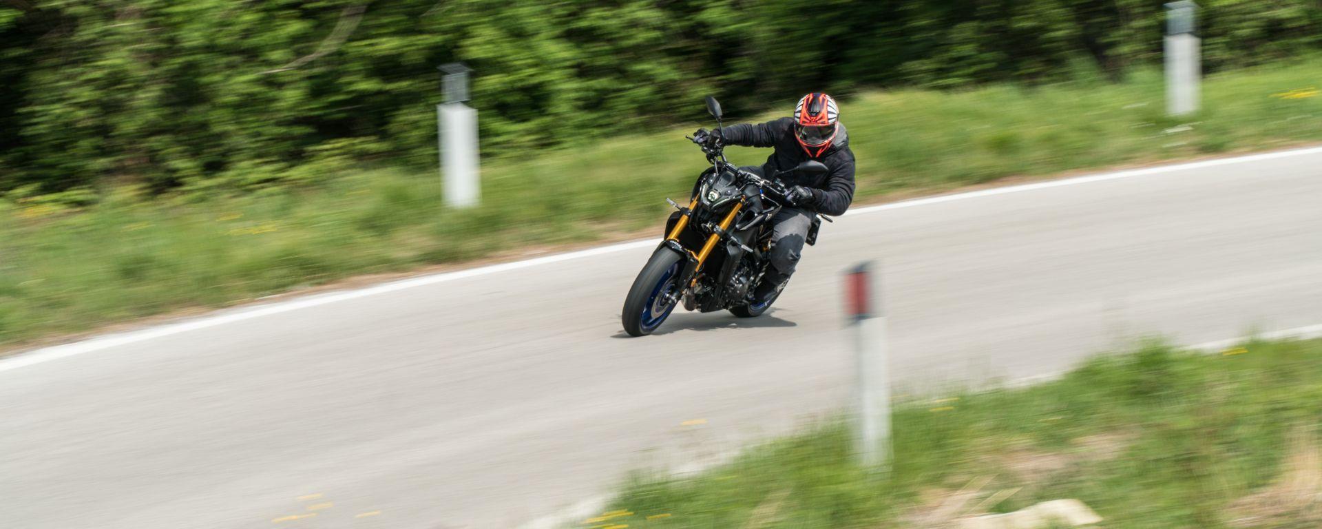 Yamaha MT-09 SP 2021: la prova