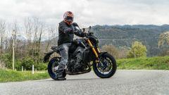 Yamaha MT-09 SP 2021: l'abbigliamento della prova