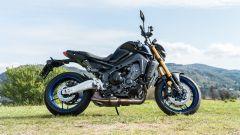 Yamaha MT-09 SP 2021: vista laterale