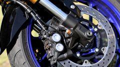 Yamaha MT-09 SP: dettaglio del freno anteriore