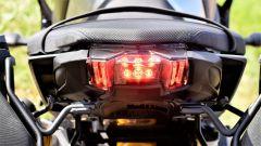 Yamaha MT-09 SP: dettaglio del gruppo ottico posteriore