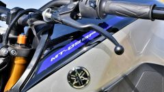 Yamaha MT-09 SP: dettaglio del serbatoio