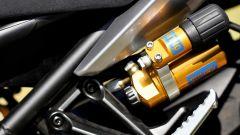 Yamaha MT-09 SP: dettaglio della regolazione separata del mono posteriore