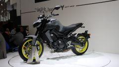 Yamaha MT-09: vista 3/4 anteriore