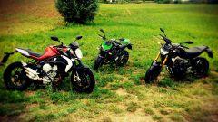 Yamaha MT-09 vs Kawasaki Z800 vs MV Agusta Brutale 800 - Immagine: 13