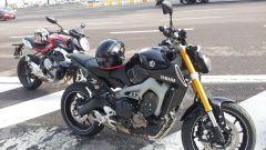 Yamaha MT-09 vs Kawasaki Z800 vs MV Agusta Brutale 800 - Immagine: 11