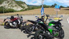 Yamaha MT-09 vs Kawasaki Z800 vs MV Agusta Brutale 800 - Immagine: 10
