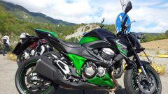 Yamaha MT-09 vs Kawasaki Z800 vs MV Agusta Brutale 800 - Immagine: 9