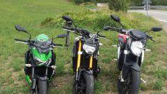 Yamaha MT-09 vs Kawasaki Z800 vs MV Agusta Brutale 800 - Immagine: 5