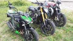 Yamaha MT-09 vs Kawasaki Z800 vs MV Agusta Brutale 800 - Immagine: 4