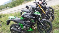 Yamaha MT-09 vs Kawasaki Z800 vs MV Agusta Brutale 800 - Immagine: 3