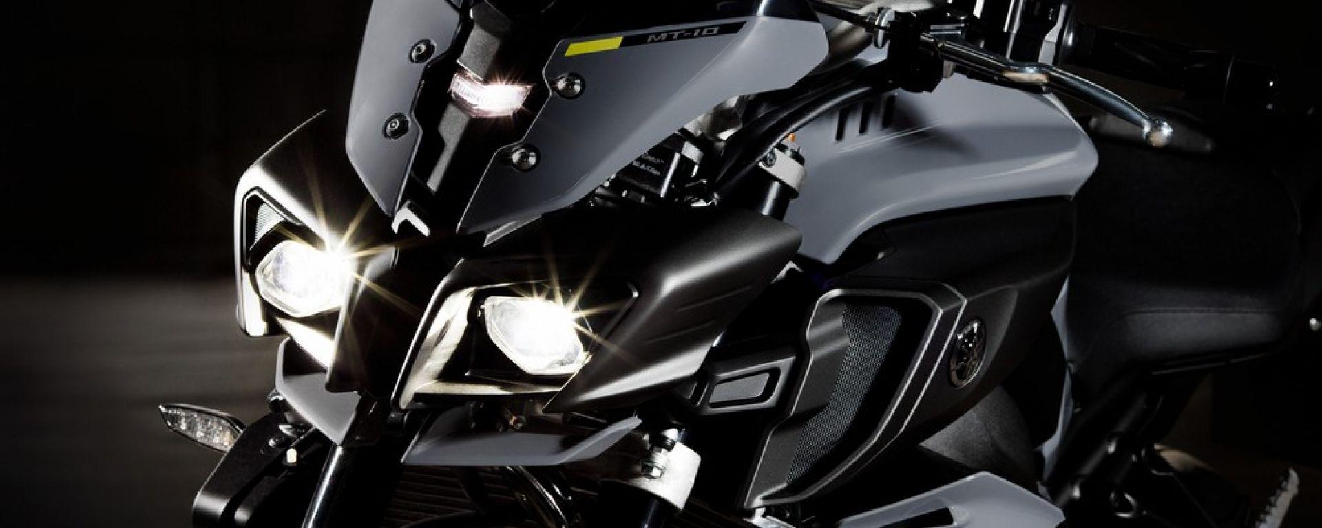 Yamaha MT-10: 160 cv a 12.990 euro