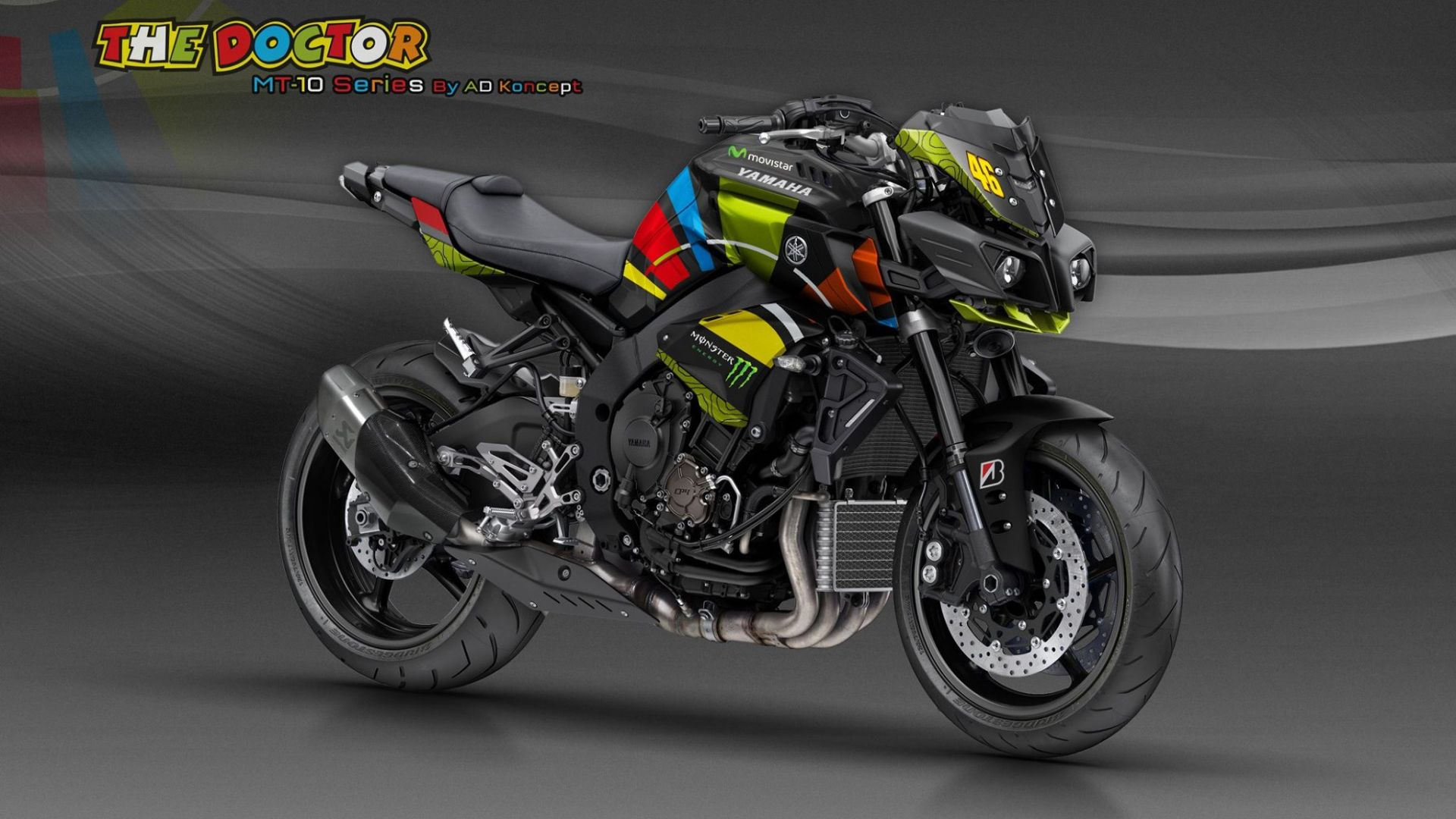 concept bike yamaha mt 10 interpretazioni di stile by ad koncept motorbox. Black Bedroom Furniture Sets. Home Design Ideas