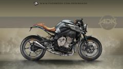 Yamaha MT-10: interpretazioni di stile by AD Koncept - Immagine: 10
