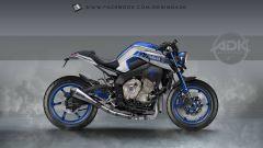 Yamaha MT-10: interpretazioni di stile by AD Koncept - Immagine: 11