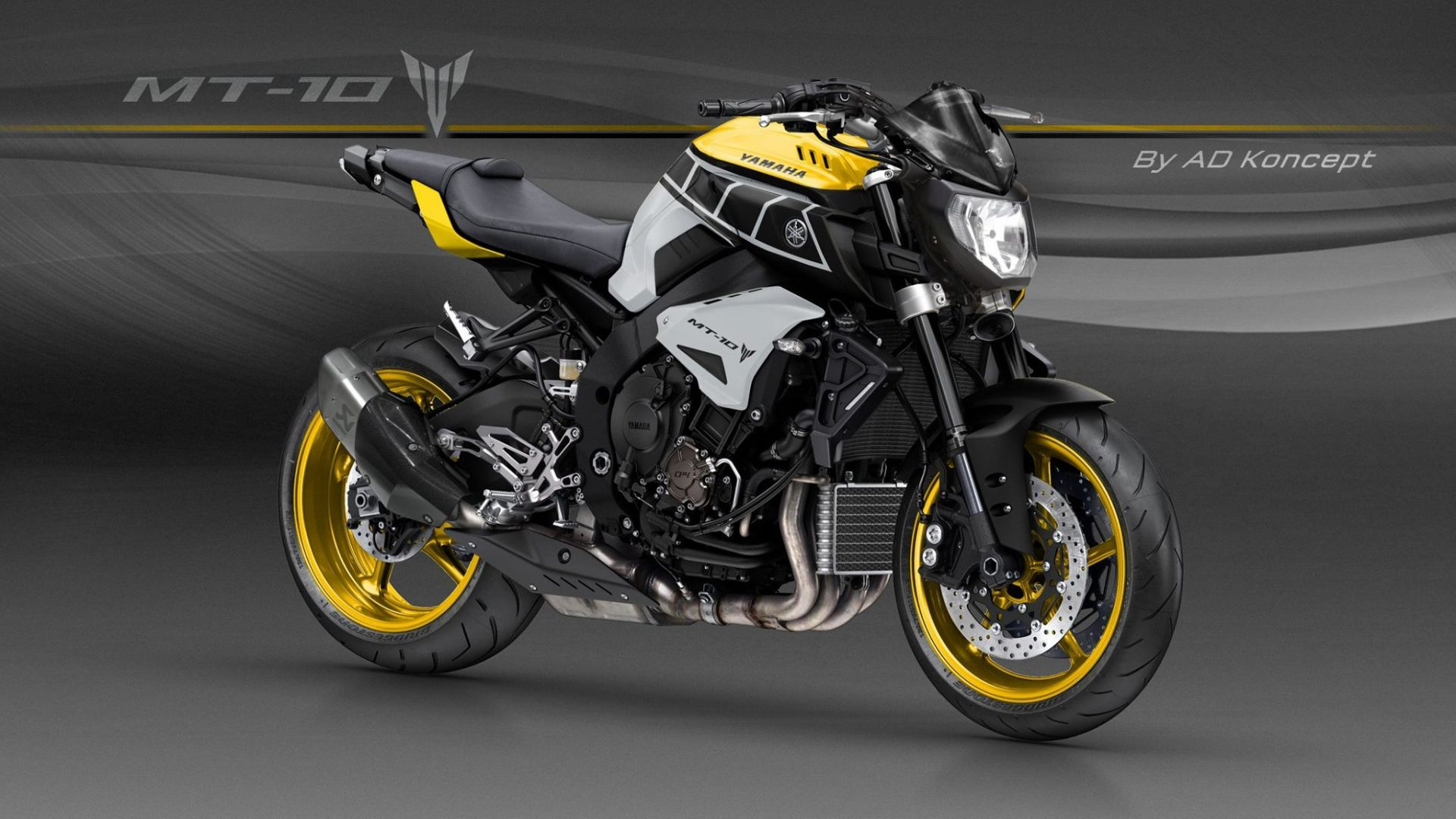 concept bike  yamaha mt