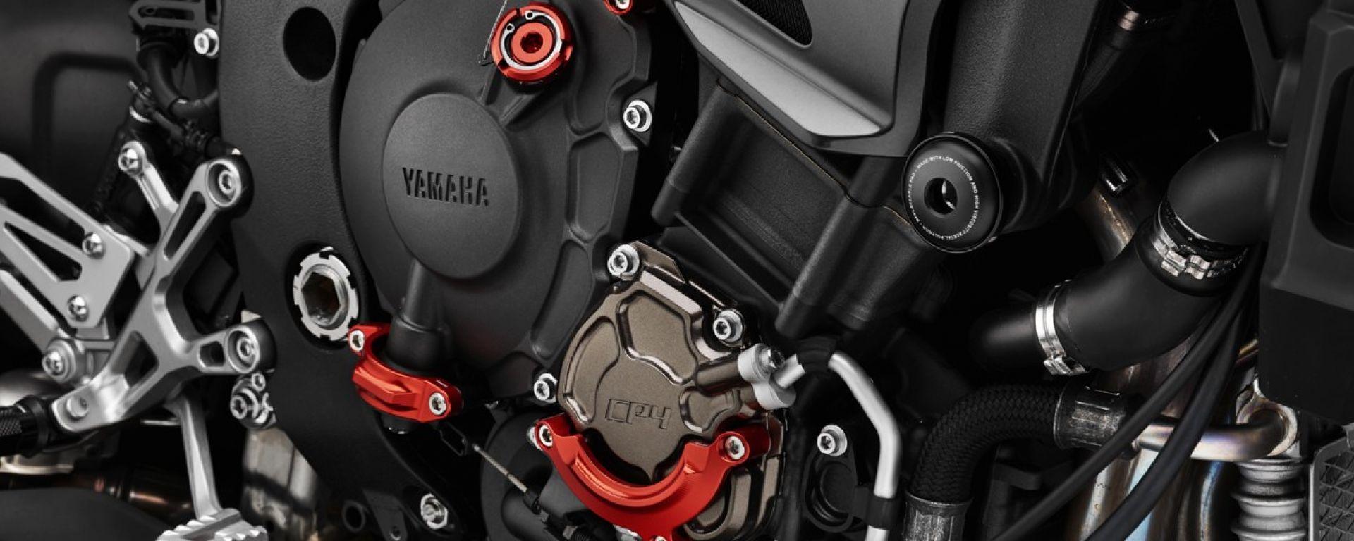 Yamaha MT-10, protezioni motore