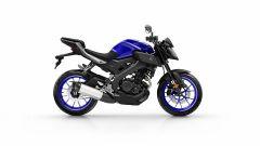 Yamaha MT-125 2017, Yamaha Blue