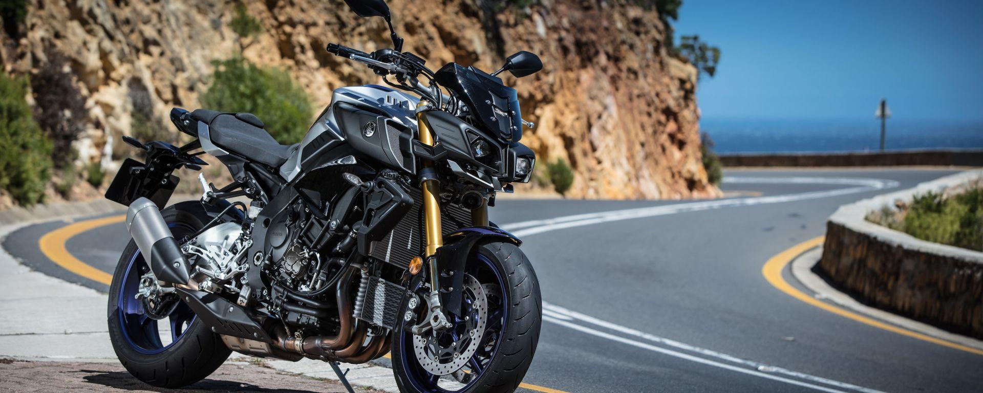 Yamaha mette il turbo... alla MT-10. Ecco i brevetti e le foto