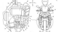 Yamaha mette il turbo... alla MT-10. Ecco i brevetti e le foto - Immagine: 4