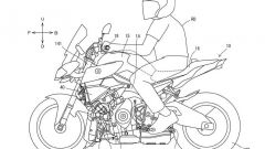 Yamaha mette il turbo... alla MT-10. Ecco i brevetti e le foto - Immagine: 5