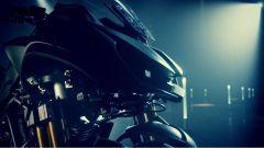 Yamaha MWT-9: dettaglio dell'avantreno