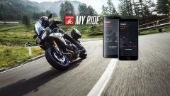 Yamaha MyRide: l'app social che misura velocità e angolo di piega