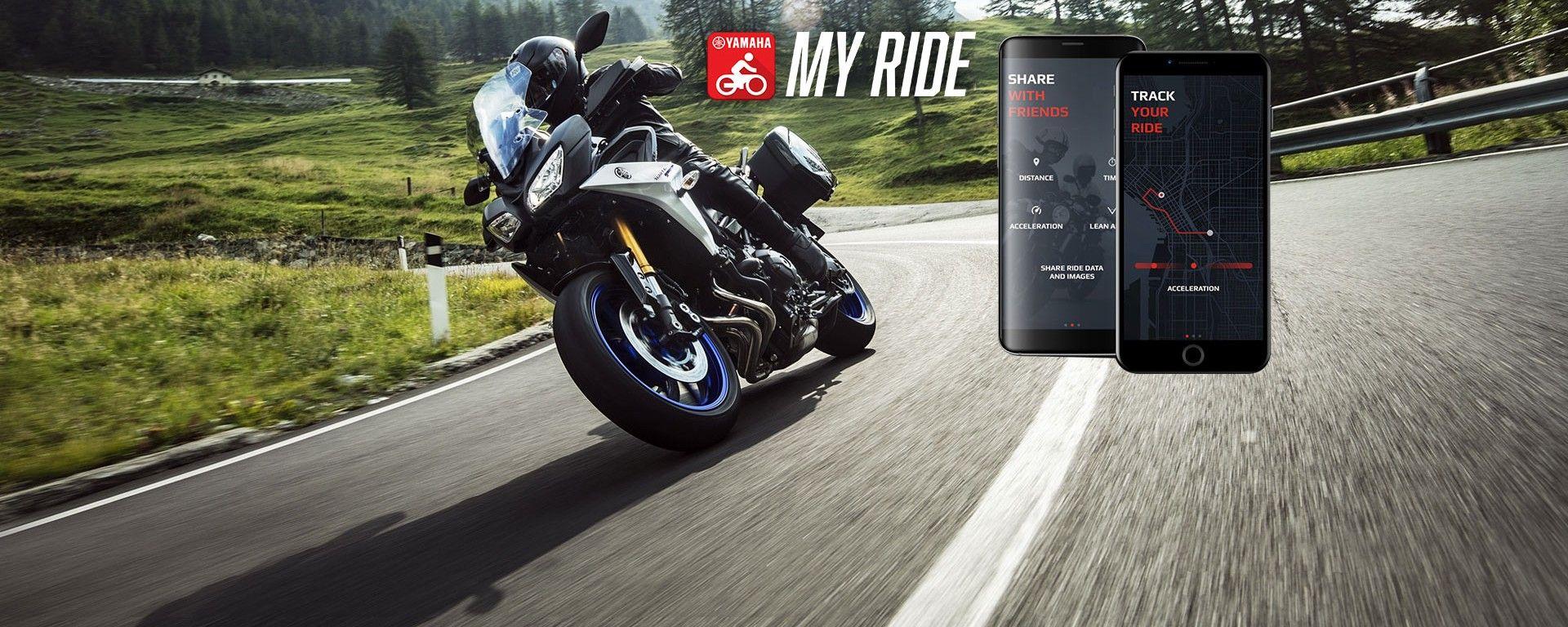 Yamaha MyRide: l'app tuttofare per motociclisti di ogni fede