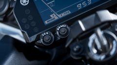 Yamaha Niken 2018 comandi controllo di trazione