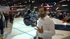 Yamaha Niken: la moto a tre ruote a Eicma 2017 [VIDEO]  - Immagine: 1