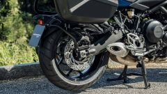 Yamaha Niken GT: ha il cavalletto centrale di serie