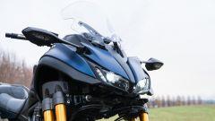 Yamaha Niken GT: i fari a LED