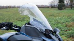 Yamaha Niken GT: il parabrezza si regola elettronicamente