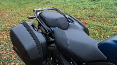 Yamaha Niken GT: la sella confort