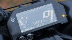 Yamaha Niken GT: la strumentazione