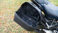 Yamaha Niken GT: le borse semi rigide hanno 25 litri di capienza