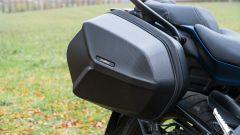 Yamaha Niken GT: le borse sono di serie