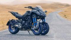 Yamaha Niken: ecco come va in piega la tre ruote di Iwata - Immagine: 1