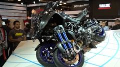 Yamaha Niken: la moto a tre ruote a Eicma 2017