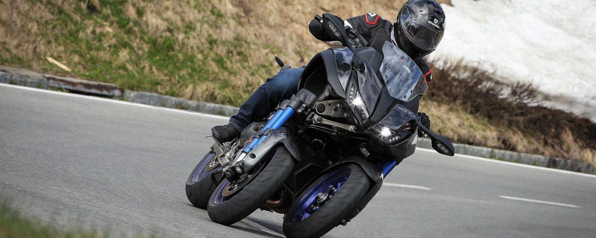 Yamaha Niken moto ufficiale di Giro, Tour e Vuelta di Spagna