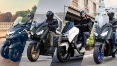 Yamaha: nuovi colori per Tricity, X-Max, N-Max e D'Elight