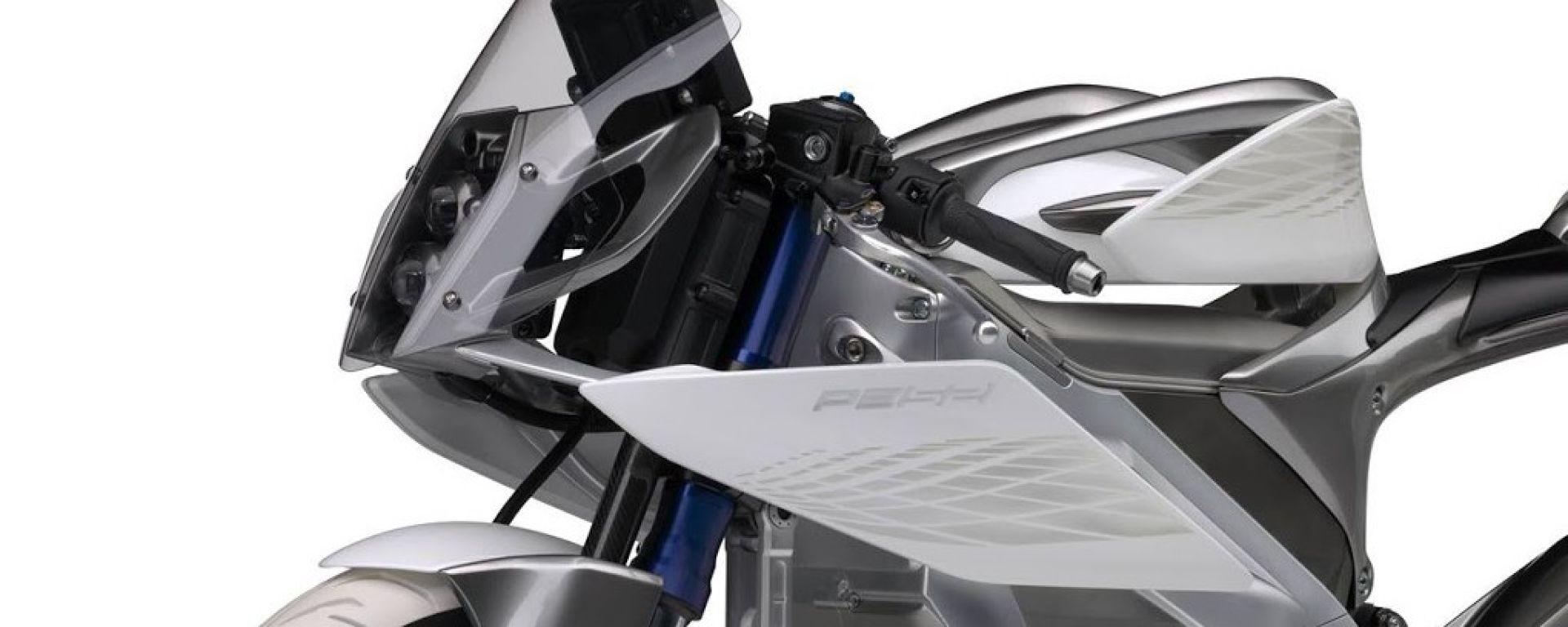 Yamaha PES2: la moto a due ruote motrici